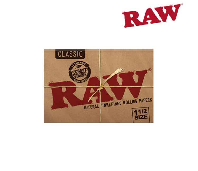 RAW Classic 1½- Natural Unrefined Rolling Papers