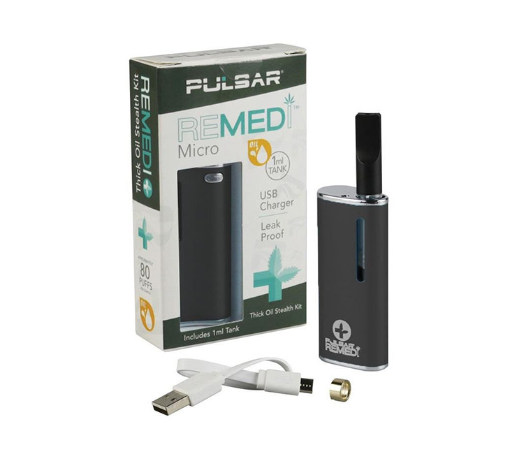 Pulsar Remedi Micro - Concentrate Vaporizer (Thick Oil)
