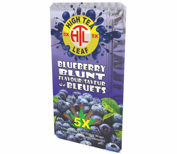 High Tea Blue Berry Blunt - Flavored Wraps