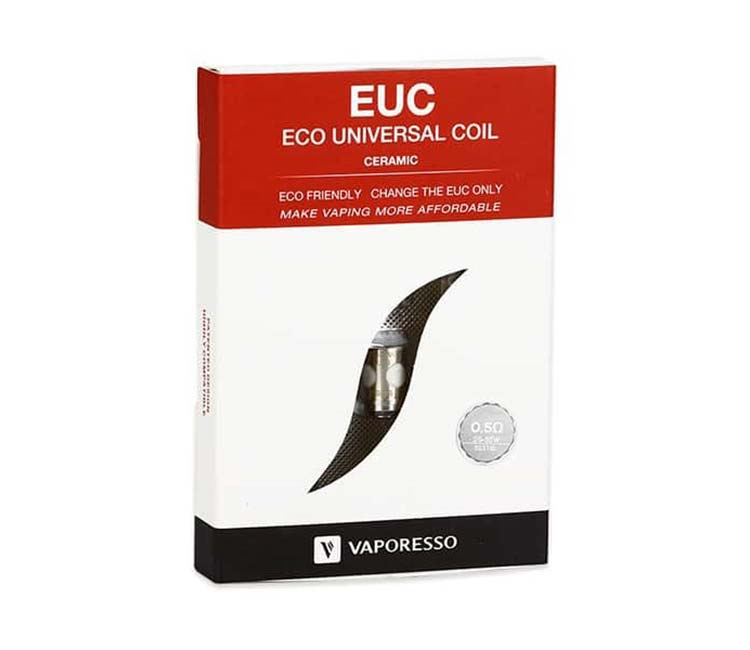 Vaporesso's EUC ECO Universal SS316 Replacement Coil