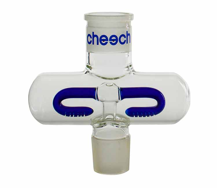 Cheech Glass 7 Inch Bong Middle With Inline Perc