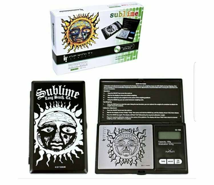 Sublime Cd Licensed Digital Pocket Scale - 100G X 0.01G (SUC0100)