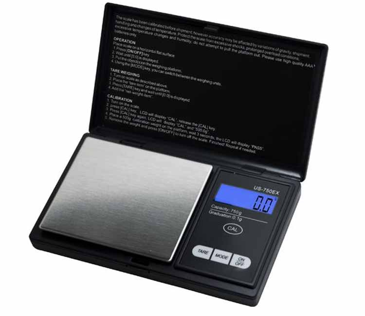 US Balance EasyCal Scale 500g x 0.1g (US-750EX)