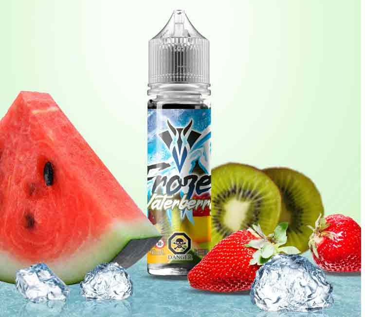 Frozen Waterberry by Vango Vape Free Base – 60ml
