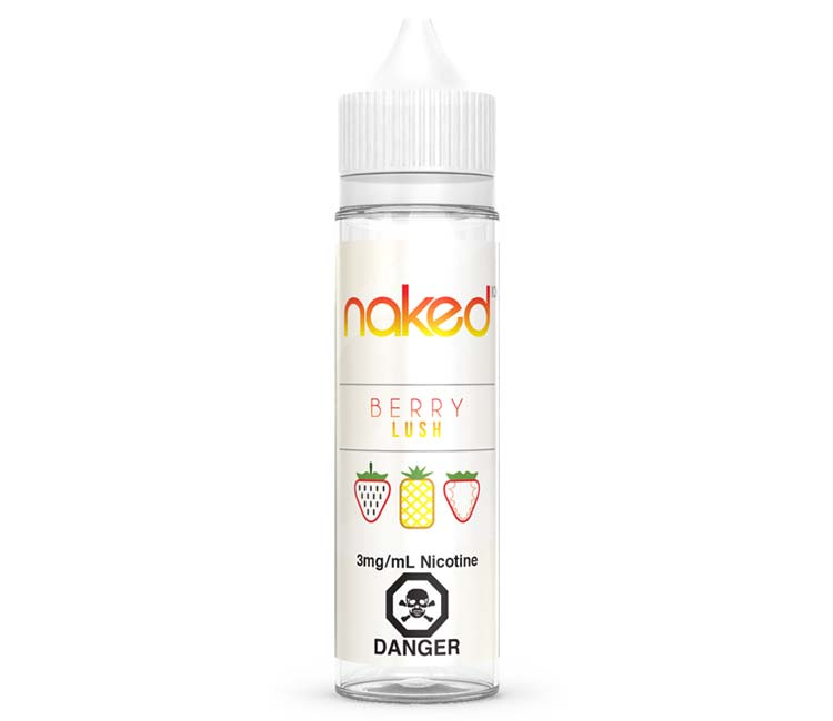Berry Lush Free Base E-Liquid by Naked 100 – 60ml