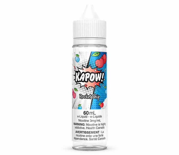 Rockit Ship by KAPOW Free Base E Liquid - 60 ml