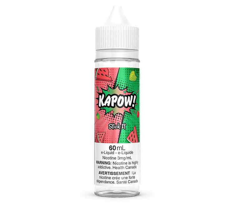 Stick It by KAPOW Free Base E Liquid - 60 ml