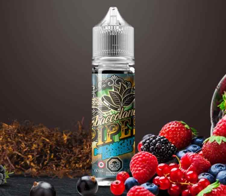 Midnight Berries by Vango Vape Free Base E-Liquid – 60ml