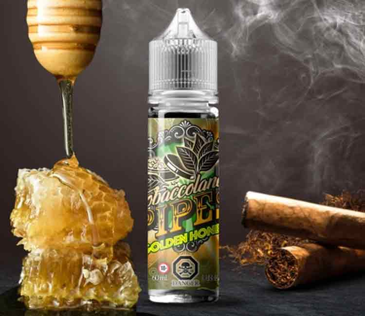 Golden Honey by Vango Vape Free Base E-Liquid – 60ml