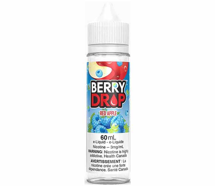 Red Apple by Berry Drop Free Base E-Liquid - 60ml