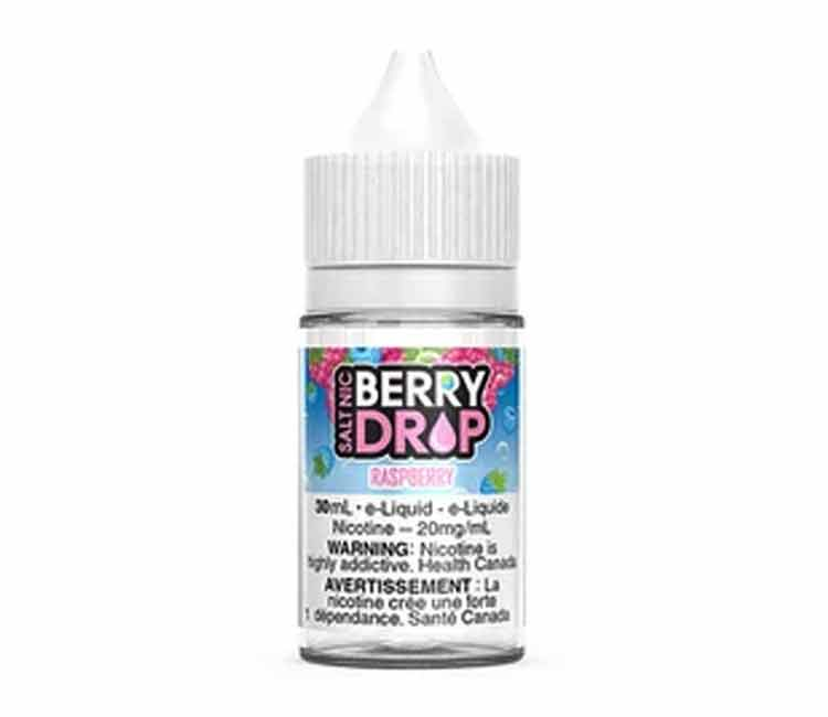 Raspberry by Berry Drop Nic Salt E-Liquid - 30ml