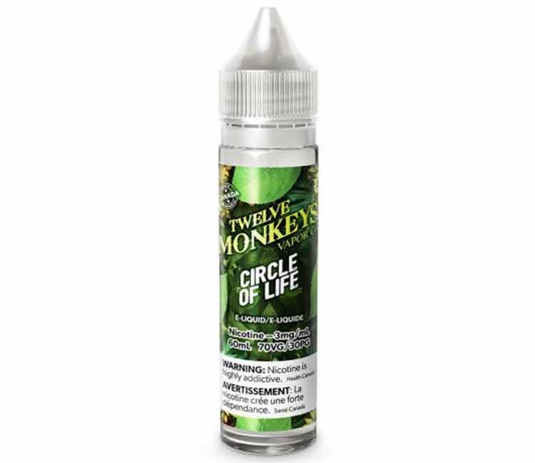 Circle of Life by Twelve Monkeys Free Base E-Liquid - 60ml