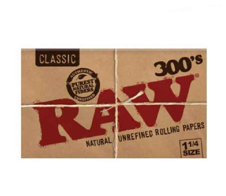 Raw Natural (Classic) 1 1/4  Rolling Papers - 300's