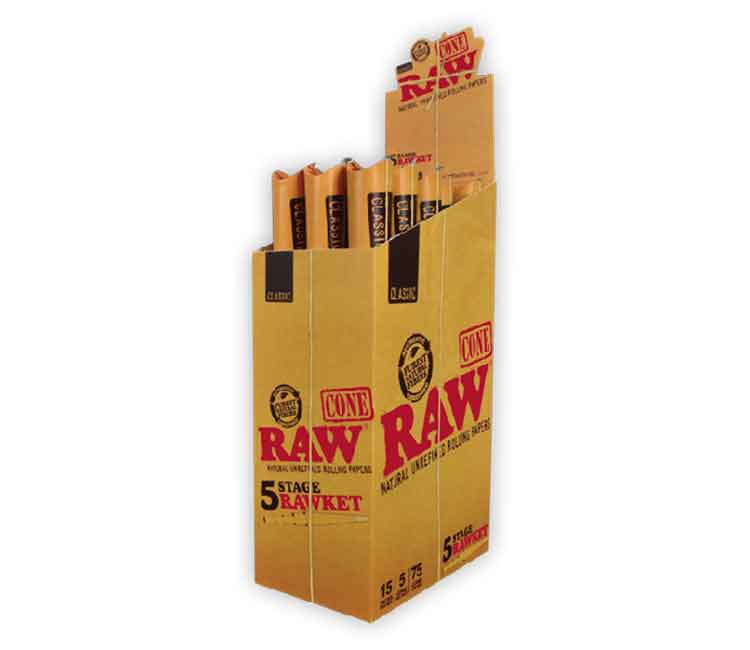 RAW Classic 5 Stage RAWket Pack
