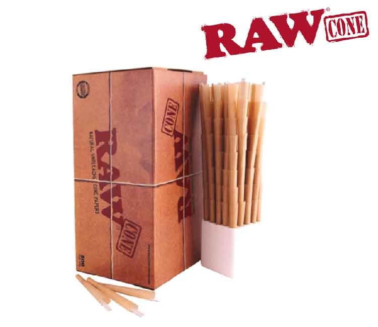Raw Pre-Rolled Cone 800 Pieces King Size